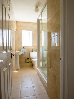 Ground Floor Shower Room with underfloor heating for added comfort. Shower room is  next to bedroom