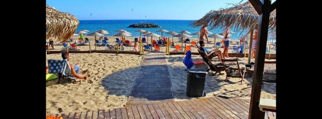 beach 500 meters from the villa
