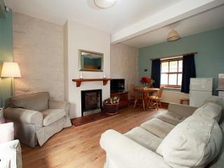 Foyle Cottage living area.