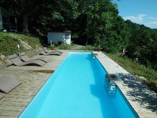 Riverside chalet with heated pool near Biarritz (1