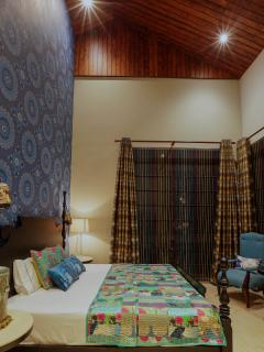 Bohemian Suite, offering the best view of the Shimla hills