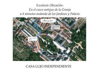 Casa Lujo reciente inauguración en casco antiguo, La Granja de San Ildefonso