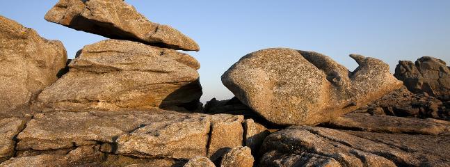 Les surprenants rochers des 'Etocs'.