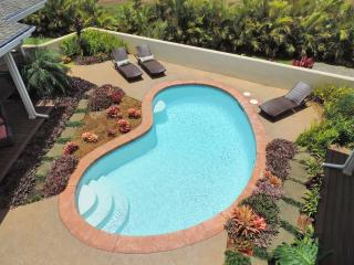Poipu Beach Estates 4BA, 3.5 BA, Heated Pool, Total AC , 3000sqft. Private Oasis