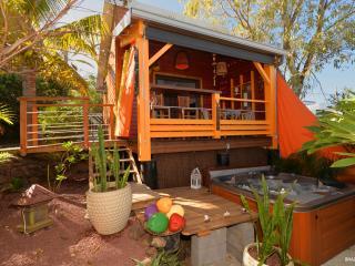 POZ' LAGON : Chambre d'hôtes en bungalow  vue mer, La Saline les Bains