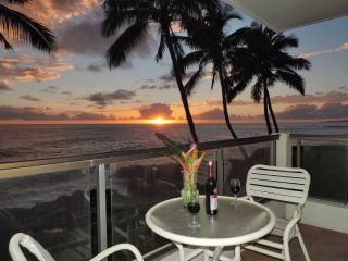 Poipu Shores 201A 2BR Oceanfront. Updated. Heated Pool., Koloa