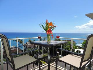 Sunset Kahili 507, 1BR HUGE Ocean View Top Floor Pool. Hear and see the ocean!, Koloa