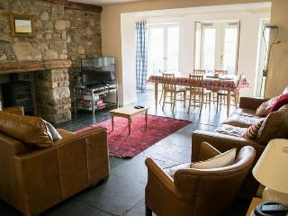 Living area, overlooking the beck