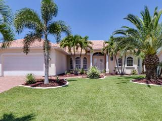 Waterfront Villa Cape Florida with Gulf access, Cape Coral
