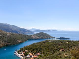 Panoramic views of the Ionian Sea and complete privacy, Sivota