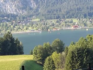 Perfect, overlooking PresseggerSee Lake & Mountain