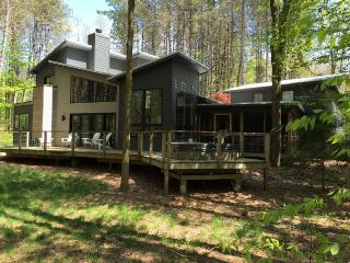 Secluded Modern Home 1 Block from Lake Michigan, Saugatuck
