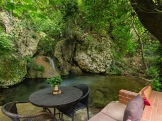Hidden in Forest with a Natural Pool, House Myloi, Rethymnon
