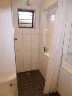 Large shower cubicle - super clean & fresh.