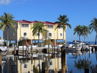 Bayfront Townhome with Boat Slip and Deep Water Marina
