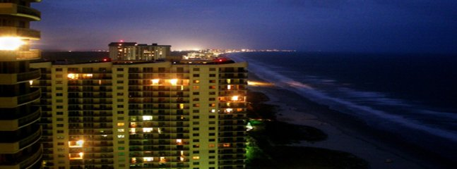 Evening Balcony view