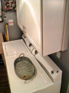 Full inside laundry room