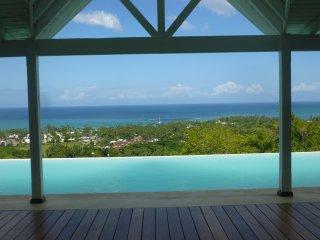 Belle villa avec vue mer magnifique, Las Terrenas