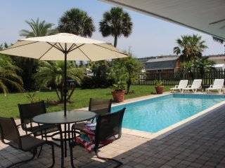 JANUARY 18' still available! Private Beach House w/pool, 4 houses from A1A!!!!!, New Smyrna Beach