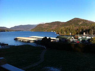 Great deal, waterfront location, spectacular view, Lake Placid