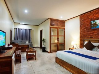 Premier Deluxe Double Room with Pool View, Siem Reap