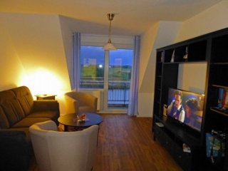 Vacation Apartment in Ueckermünde - lots of space, terrace with grill, garage available (# 9858), Ueckermunde