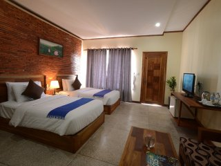 Premier Deluxe Twin with Pool View, Siem Reap