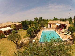 Grande maison avec piscine chauffée, Viterbe
