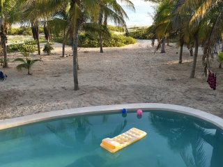 Casa de Cocos is a private, Mayan beach house., Telchac Puerto