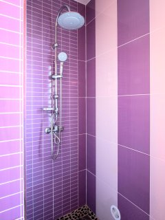 L'Oasis de Terre Rouge - Appartement Jacaranda - douche