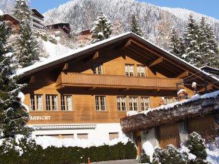 Ferienwohnung mit Sicht auf die Eigernordwand, Grindelwald
