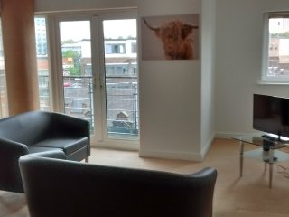 Modern City Centre Apartment - 2 Double Bedrooms, Newcastle upon Tyne