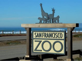 Rare SF 3 Bed/2ba Beach Property across from Zoo
