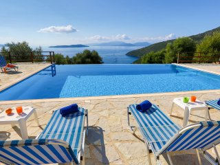 Villa Andromeda - Stunning view on the Ionian Sea, Sivota