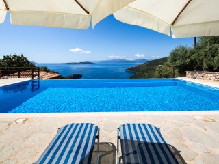 Villa Eleona - breathtaking view of the Ionian Sea, Sivota