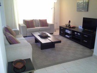 Spacious, comfortable lounge