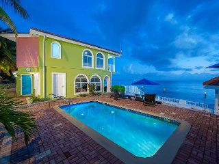 Luxury Beachfront Home on 7 Mile Beach with Pool!  5BR 'Serenity Now', West Bay
