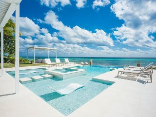 Luxury Oceanfront Estate w/ Pool And Spa 6 Bed - 6.5 Bath Tranquility Cove, Grand Cayman