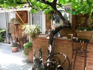 Appartement avec loggia, jardin et terrasse