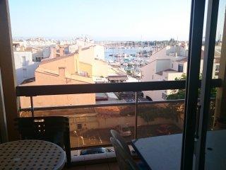 Studio Lounge Centre Port CAP D'AGDE - 4 personnes, Cap-d'Agde