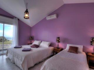 L'Oasis de Terre Rouge - Villa Flamboyant - Chambre modulable 3 personnes
