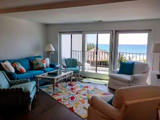 3BR/3BA Oceanfront Condo w/ Elevator.  NEWLY REMODELED FOR 2016!