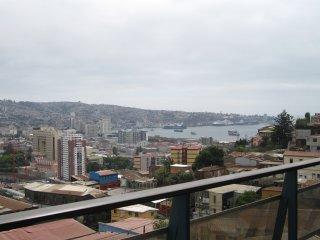 Disfruta Valparaiso en exclusivo departamento