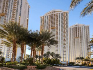 MGM SIGNATURE JR. SUITE w/ BALCONY!  RATES START AT $99! Walk to Las Vegas STRIP