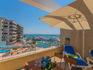 Atico de lujo con terraza y piscina en Pº Maritimo, Palma de Mallorca