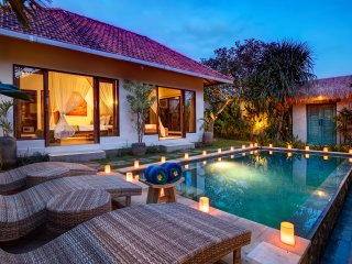 Villa Yoga at night
