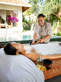 SPA services available in the villa