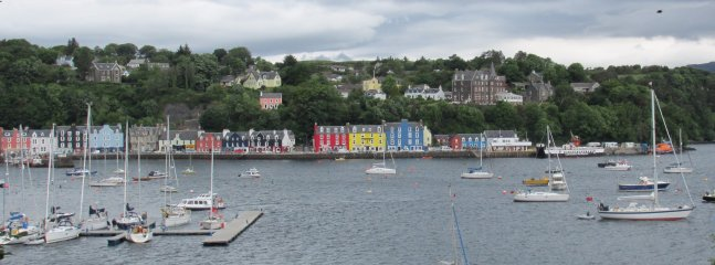 Colourful Tobermory on the Isle of Mull
