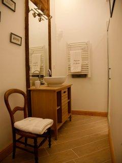 La salle de bain de Victoire