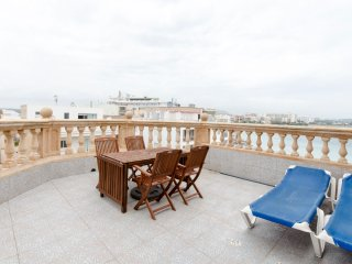 Apartment on beach terrace,stunning sea view,, Cala Millor